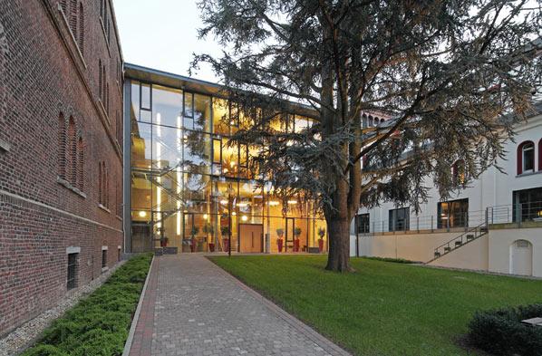 Glashaus architekten projekte kloster st alfons aachen - Architekten aachen ...