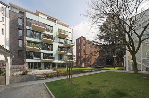 Glashaus architekten projekte wohnen an st alfons aachen - Architekten aachen ...